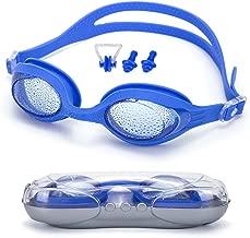Dreamslink Swim Goggles, Swimming Goggles for Men Women Adult Youth Kids Children, Anti-Fog UV Protection Leak-Proof Triathlon Swim Goggles