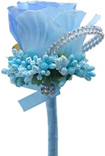 FOPUYTQABG Broche de joyería de moda accesorios de boda hombres dama de honor matrimonio novio ramillete suministros broche