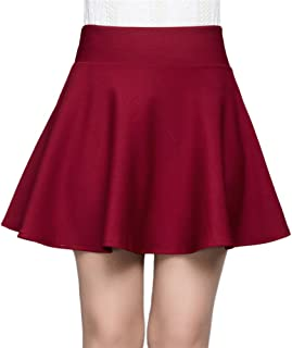 Tanming Women's Sexy Fashion Base A Line Short Skirt with Skorts