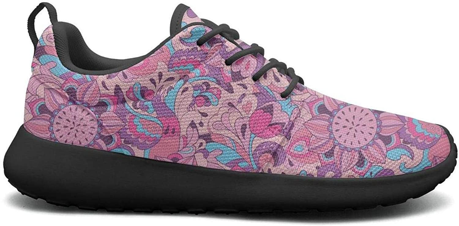 CHALi99 Comfort Womens Lightweight Mesh shoes Oil Painting colorful Sunflowers Floral Sneakers Athletic Soft Sole