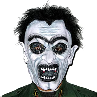 WNGCAR AU Scary Male Adult Masquerade Latex Zombie Brunette Zombie Mask, Halloween Mask