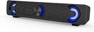 PCスピーカー, Smalody ゲーミングスピーカー USB電源 高音質 LEDライト付き コンピューター/ラップトップ/ゲーム機などに対応 PS4.などゲーム用