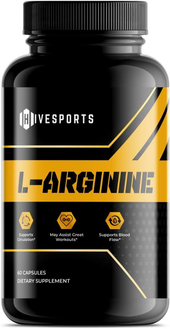 Hivesports L Arginine Year-end annual account - Nitric Growt Oxide National products Supplement for Muscle