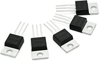 Gikfun Packing RFP30N06LE 30A 60V N-Channel Mosfet TO-220 ESD Rated for Arduino (Pack of 5pcs) EK1658A