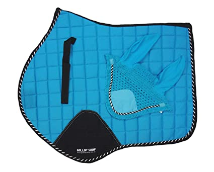 General Saddle Pad Numnah Cloth Free Ears with triming