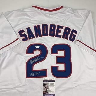 ryne sandberg signed baseball