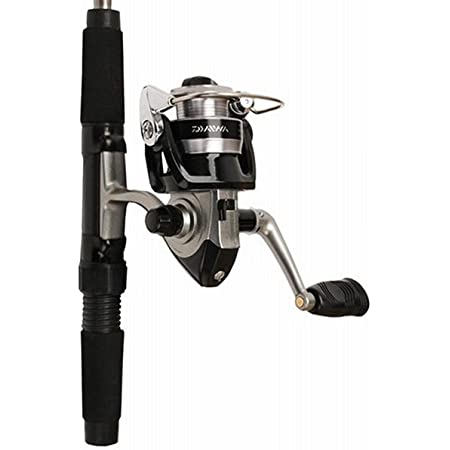 Daiwa Mini System Minispin Ultralight Spinning Reel and Rod Combo in Hard Carry Case