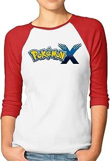 Pikachu Home Raglan Shirt Designed For Women
