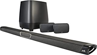 Polk Audio MagniFi MAX SR True 5.1 Home Theatre Sound Bar and Wireless Rear Surround Sound System - Black