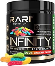 RARI Nutrition - Infinity Pre Workout Powder - Natural Preworkout Supplement for Men and Women - Keto and Vegan Friendly -...