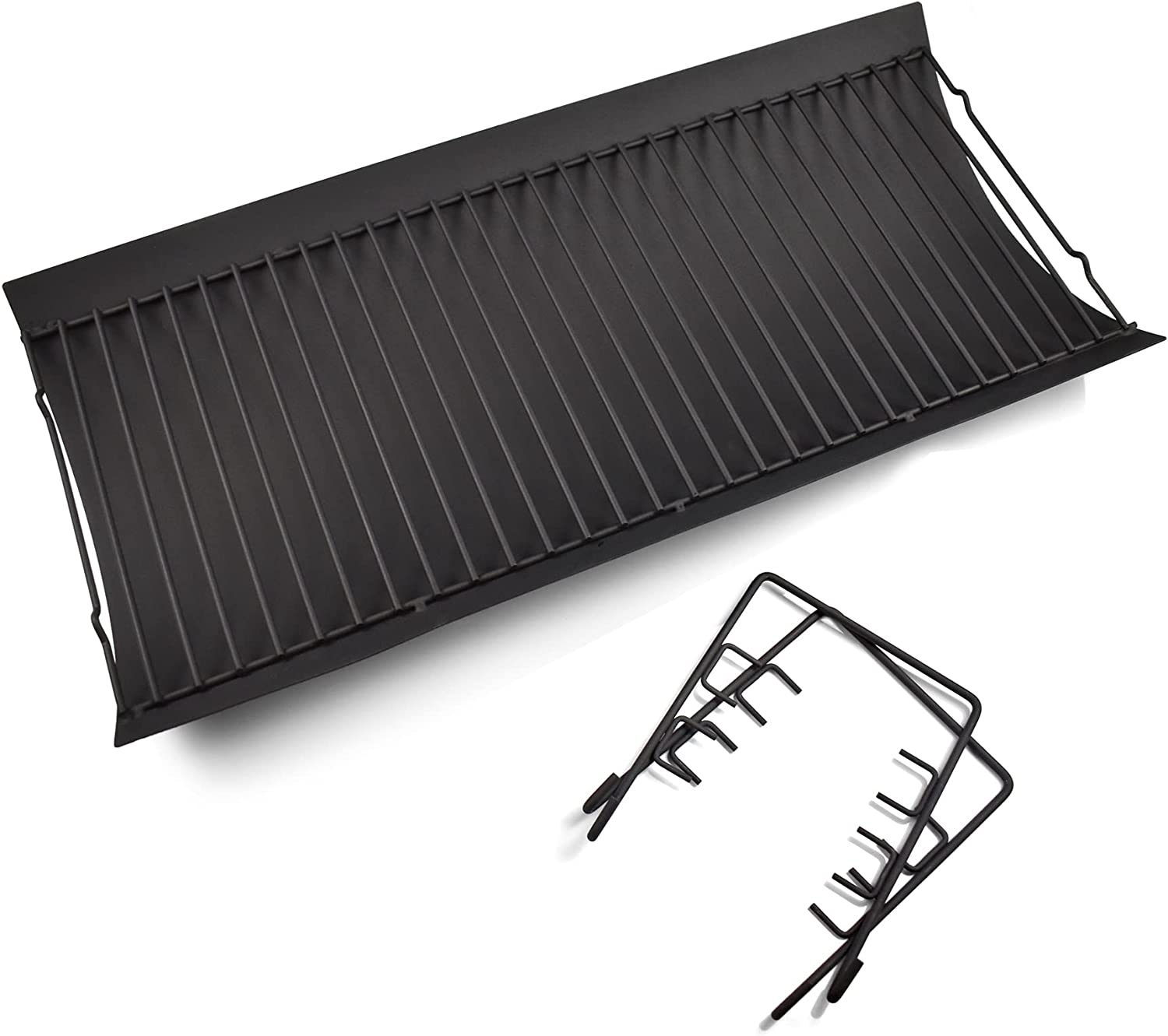 Dtong 27 Inch Grill Ash Pan Grate Hanger Max 46% Max 71% OFF OFF 2pcs with Fire Drip