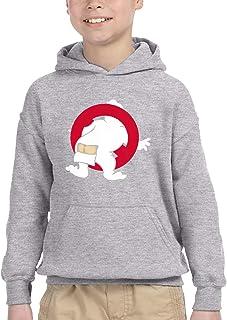 Ghostbusters ゴーストバスターズ パーカー プルオーバー キッズ 子供服 裏毛 トップス 個性 プリント オシャレ 上着 男の子 女の子