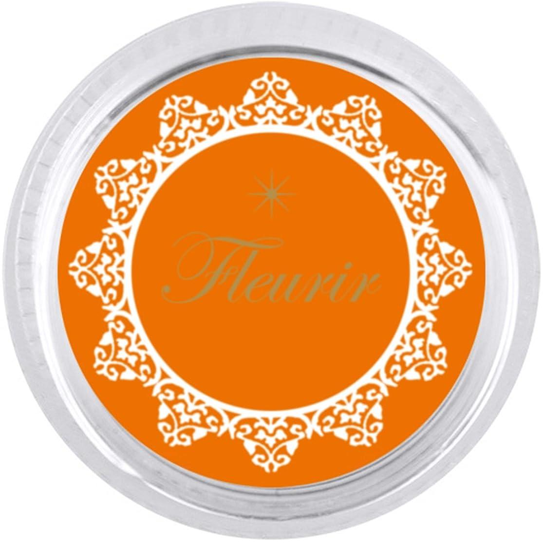 バッジ独特の壁紙カラーパウダー オレンジ