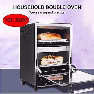 L.TSA El Mini Horno Kitchen 220V 12L es una Deliciosa máquina para Hacer Alimentos y un Buen ayudante para su Cocina. Ahorra Tiempo y Esfuerzo y es para la Temporada de Vacaciones, Negro