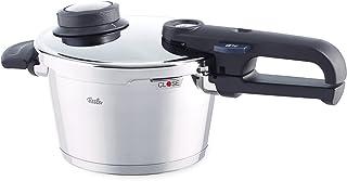 Fissler vitavit premium / Olla a presión (2,5 litros, Ø 18 cm) de acero inoxidable, 2 niveles de cocción, apta para cocinas de inducción, gas, vitrocerámica y eléctricas