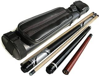 Brand New - Champion Silver Maple Pool Cue Stick(20oz)+ Gator Nemesis Jump and Break Cue (20oz)+black 2x2 Case + Billiards Glove + Aim Trainer