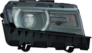 Headlight Assembly For Chevrolet Chevy Camaro Lt/Ss With Rs Model Passenger Right Side 2014 2015 Headlamp GM2503392