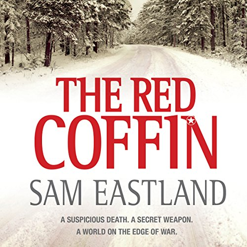 The Red Coffin audiobook cover art