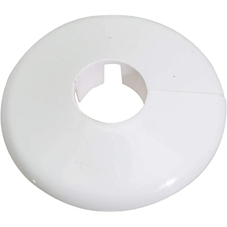 18mm pl/ástico negro 16mm para tubo di/ámetros: 15mm 21,3mm; rosetones // protectoras radiador gris 15mm, RAL 7016 3 Piezas de rosetas dobles para tubos de calefacci/ón marr/ón Gris Antracita