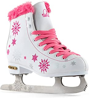 Sfr Skates Snowflake Patines sobre Hielo, Unisex Adulto