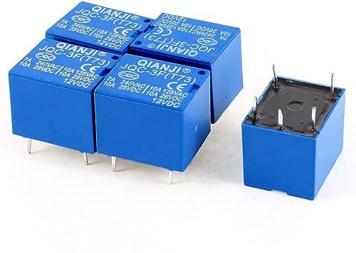 Mini 12V DC Power Relay SRD 12VDC SL C PCB Type Single Item pack of 5