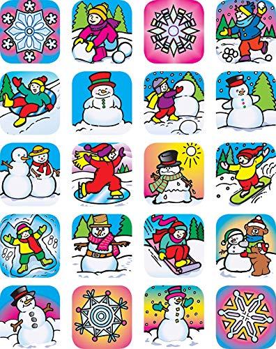 Teacher Created Resources Winter Stickers, Multi Color (1804)