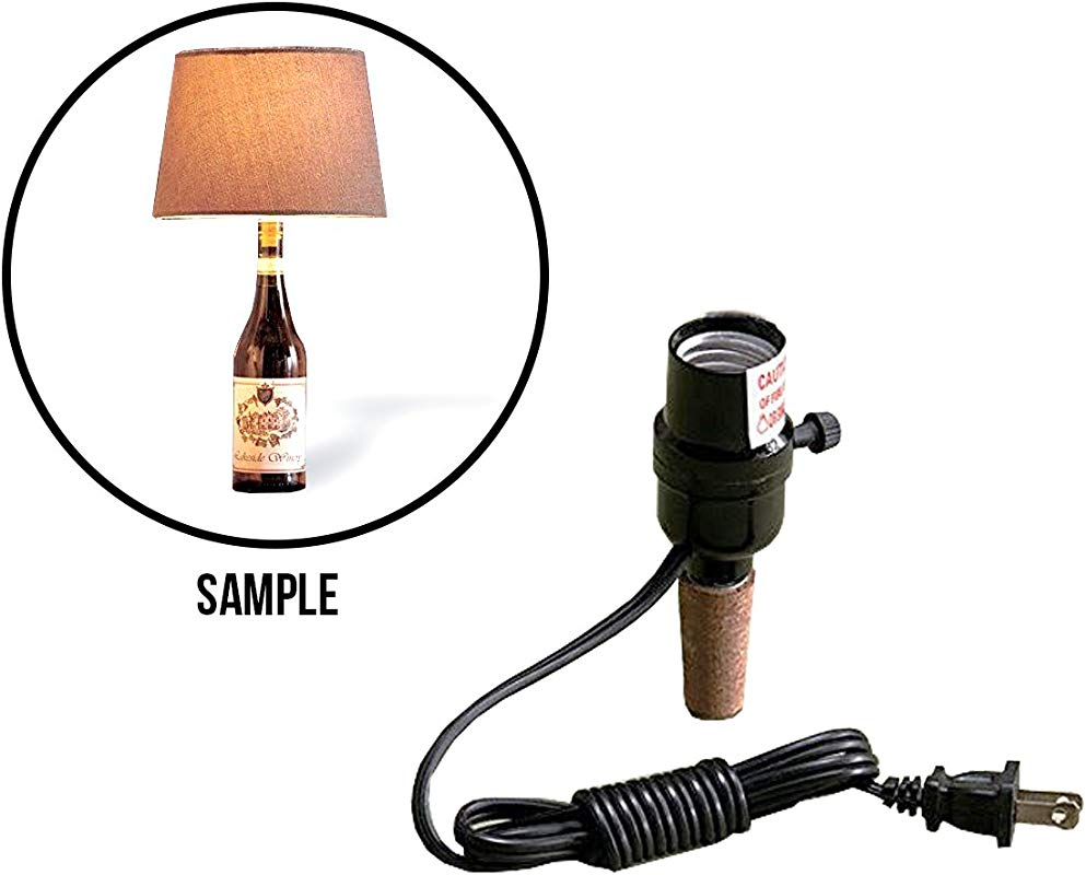 Creative Wine Cork Stopper Kit Turn Instantly Into A Beautiful Fun Full Functional Lamp By CTD Store