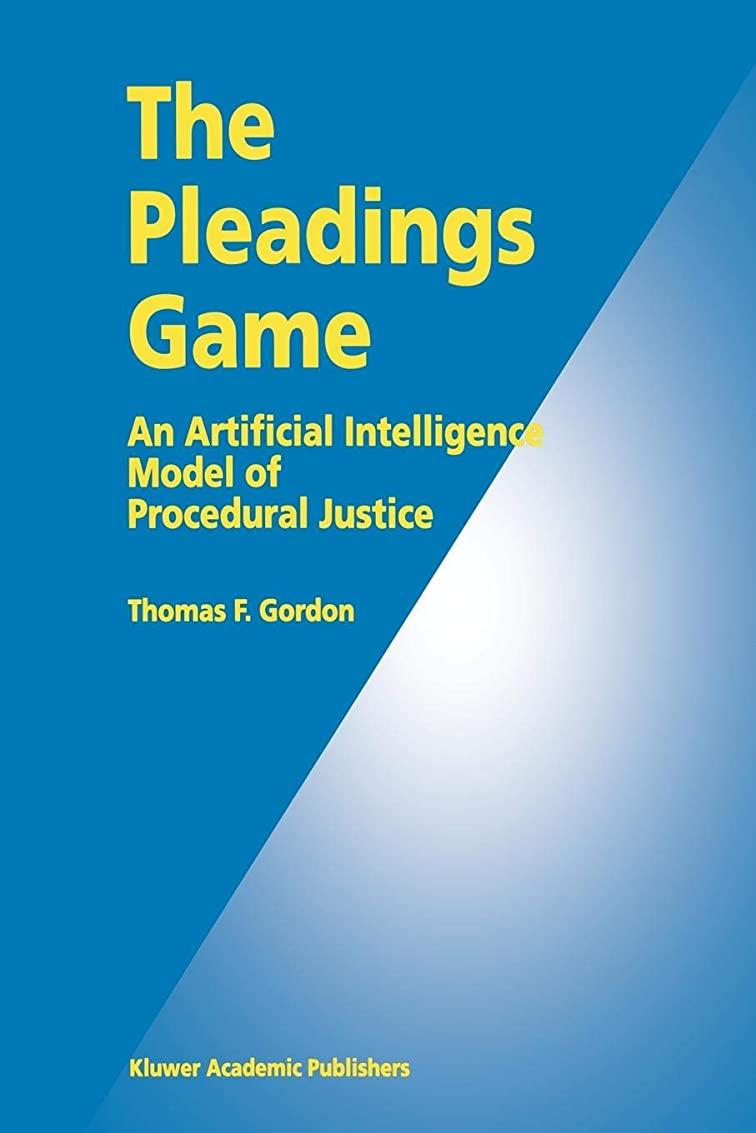 きゅうり上院のれんThe Pleadings Game: An Artificial Intelligence Model of Procedural Justice