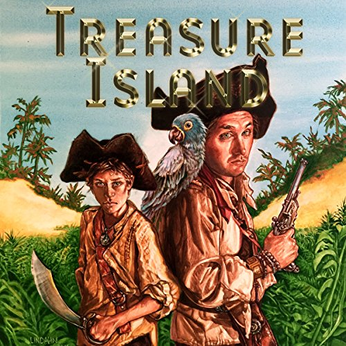 Couverture de Treasure Island (Dramatized)