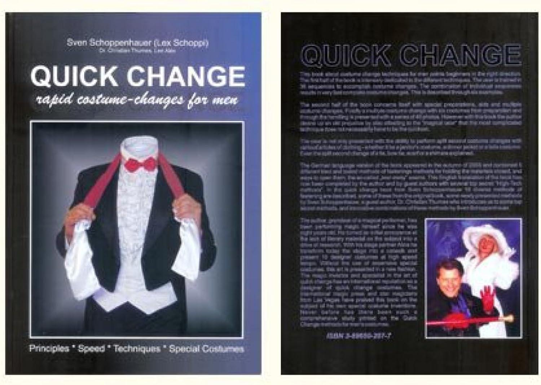 Quick Change Book (For Men) by Lex Schoppi - Book