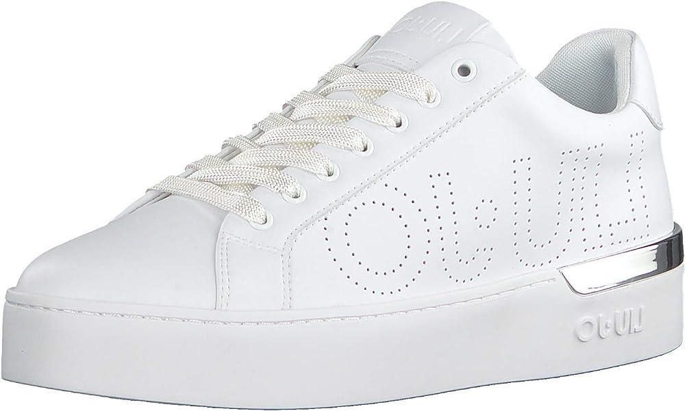 Liu jo jeans,sneakers,scarpe sportive per donna,in pelle BA0027 EX014