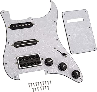 KESOTO SSH Pickups Loaded Pickguard For Electric Guitar Replacement Accessory