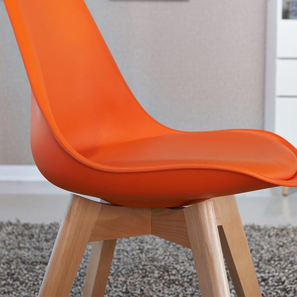 AJZGFChaise de salle à manger, chaise de cuisine Chaise longue en bois massif, tabouret à manger chaise, chaise de café minimaliste moderne, fauteuil (Color : Black) White