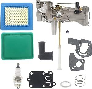 Cnfaner 5HP Carburetor for 498298 692784 495951 495426 135202 135212 112202 112252 112292 134202 133212 130202 Engine with 692189 Grommet 5021K Diaphragm Kit