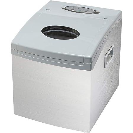 東京Deco ステンレス製 製氷機 家庭用 新型 高速 自動製氷機 [タンク容量1.5L] [透明な氷を簡単に素早く作れます] 卓上 家庭 業務用 レジャー アウトドア 大容量 アイスメーカー 氷 新型 d000