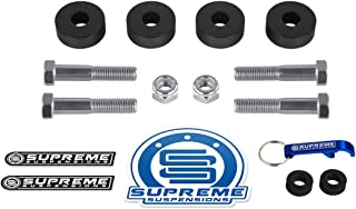 Supreme Suspensions - Differential Drop Kit for Chevy Silverado 1500 [4WD] and GMC Sierra 1500 [4WD] CNC Machined Diff Drop Kit (Including Bolts)