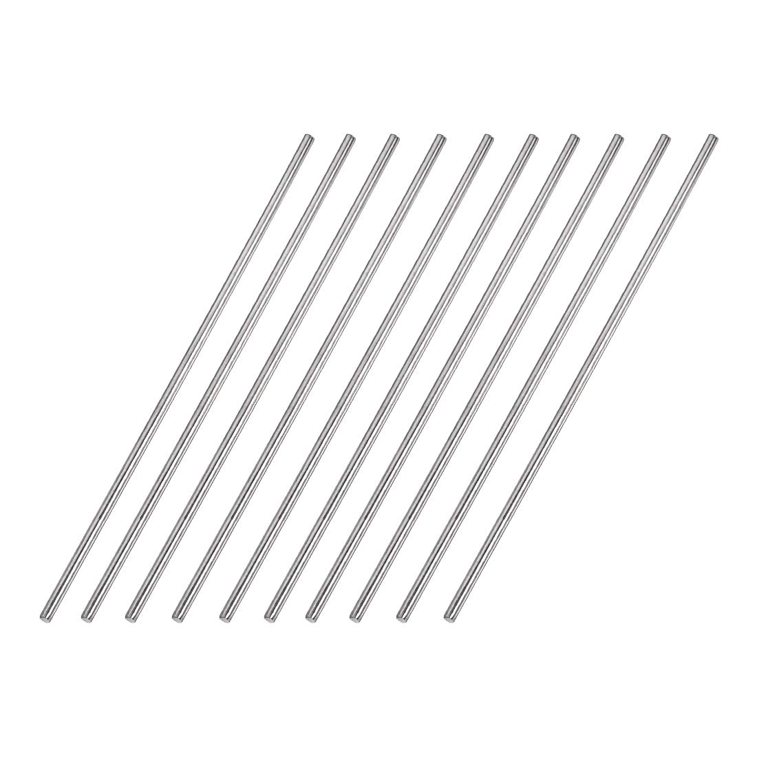 uxcell 2.5mm x 150mm 304 Kansas City Mall Stainless DIY Solid Steel Rod Round Boston Mall for