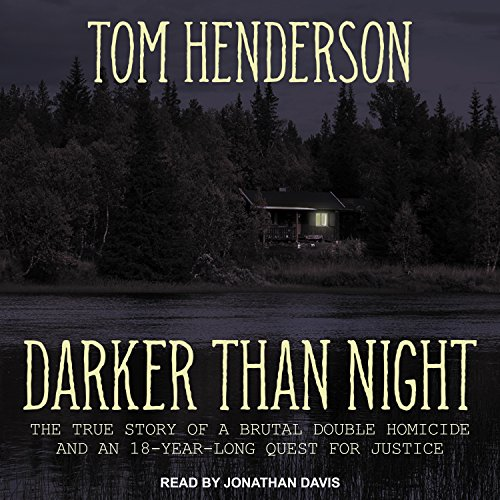 Darker Than Night audiobook cover art