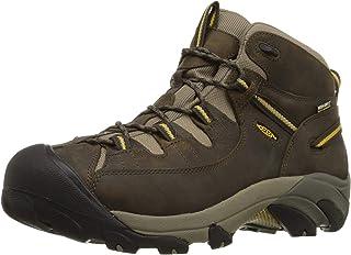 KEEN حذاء برقبة طويلة للرجال Targhee II متوسط للماء للمشي لمسافات طويلة