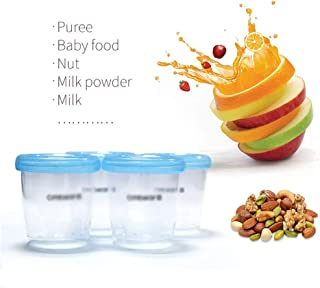 Breast Pump Milk Storage Cup, Breast Milk, Food Supplement, Milk Powder, Candy Collection, Good Sealing, can be Stacked an...