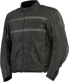 CUSTOM BILT Shadow Waterproof Textile Motorcycle Jacket - 5XL, Black