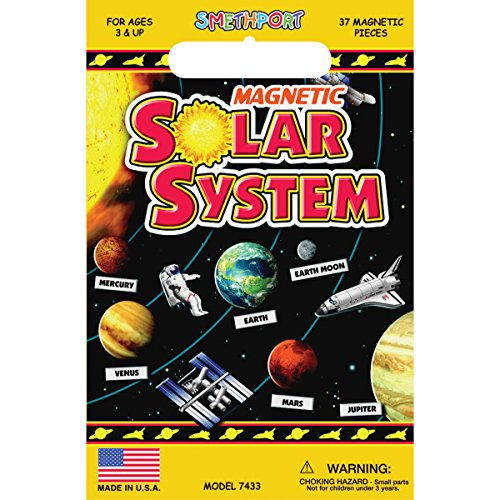 Create-A-Scene Magnetic Playset - Solar System