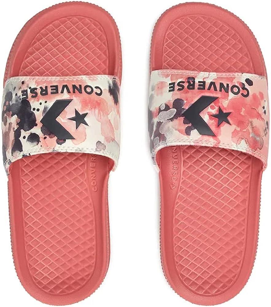 Converse All Star Slide Slip Women's Terracotta Floral Slides Size 11