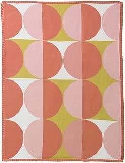 DwellStudio Geometric Multi Knit Blanket, Pink