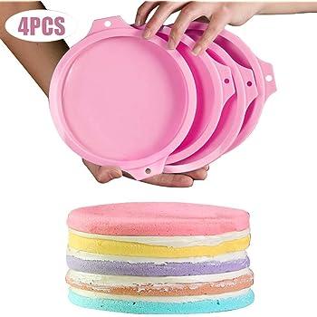 Moule à gâteau en Silicone en couches forme ronde rectangulaire en Silicone