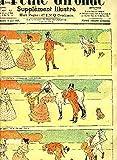 LA PETITE GIRONDE SUPPLEMENT ILLUSTRE - 8EME ANNEE N° 25 JUIN 1905 - vengeance et tape chose cheval de selle par de la Nézière - le mariage de l'empereur charlemagne - histoire gaie - blague marseillaise - mauvaise plaisanterie - au village etc.
