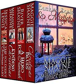 Buckles, Boots & Mistletoe by [Maggie Shayne, Miranda Shayne, River Shayne, Jessica Lewis]