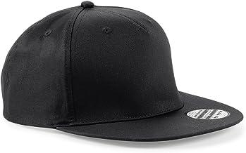 Cappellino con Visiera Piatta Contrasto Cotone Cappello Rapper Beechfield B610C CHEMAGLIETTE