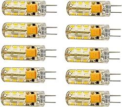 LED Lamp 10Pcs-Pack G4 LED Bulb Light 2W Lighting Bulbs Warm White 3000k / Cool White 6000K Light for Interior Lighting, S...
