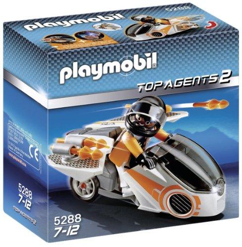 PLAYMOBIL - Moto espía (5288)